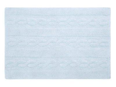alfombra-lavable-trenzas-azul-claro-pequena