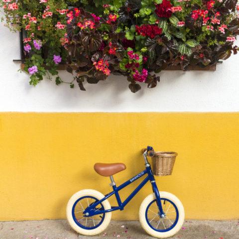 Bicicletas y balancines